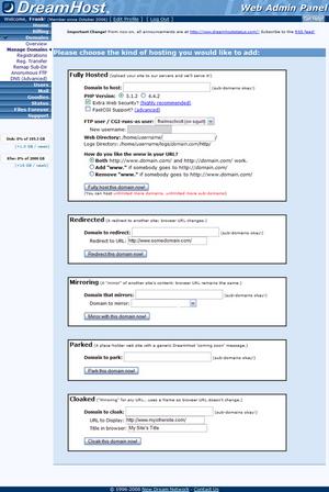 dreamhost 3 domains