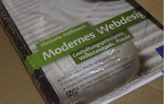 Modernes Webdesign von Manuela Hoffmann