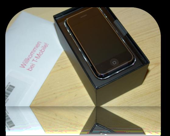 iPhone unpacked