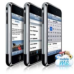 iPhone und Mobile Me