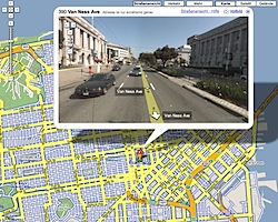 Streetview in San Francisco