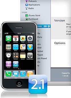 iPhone Update 2.1