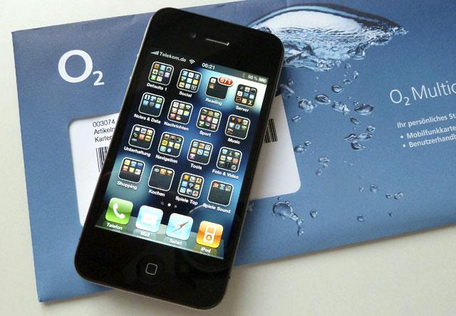 iPhone 4 ohne Vertrag und bei O2
