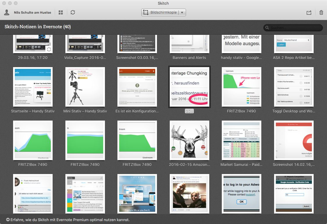 Skitch: Evernote Screenshot App
