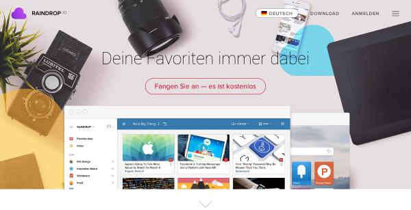 Raindrop.io: Homepage