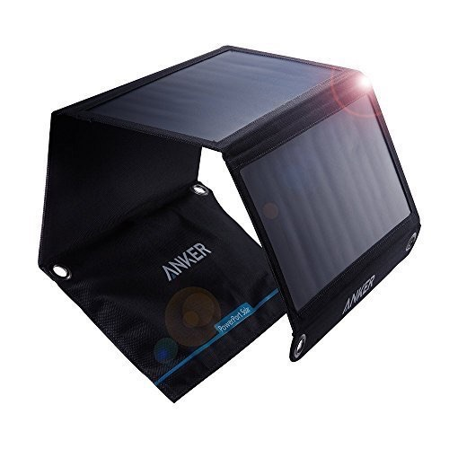 Anker PowerPort Solar 21W 2 Port USB Black